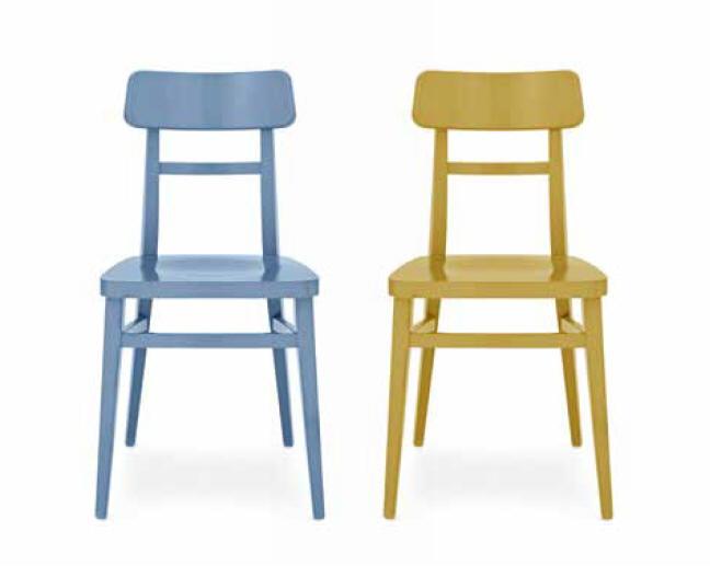 Krzesła Milano Connubia Calligaris Nowoczesne Włoskie Krzesła Drewniane Kilka Wariantów Kolorystycznych