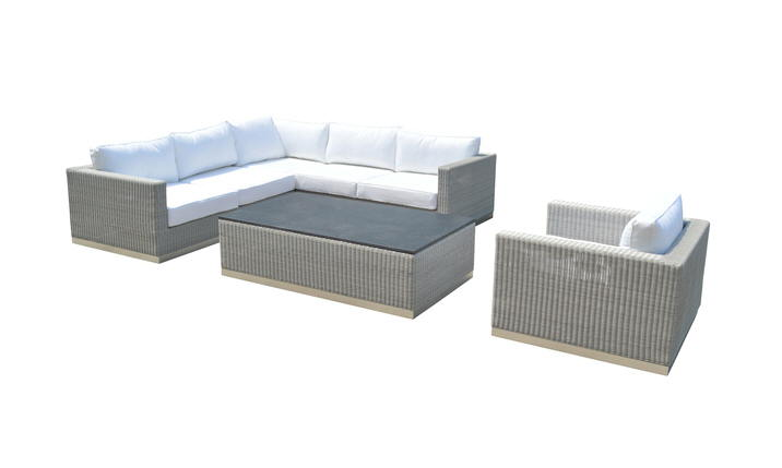 Sofa AIR 3 osobowa - eco-rattan