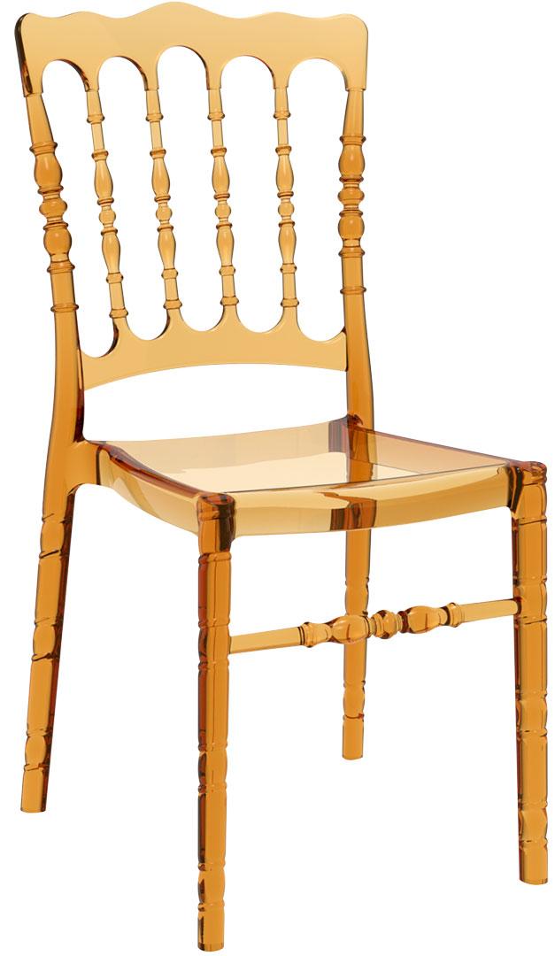 Cudowna Krzesło OPERA - 3 kolory - poliwęglan - oryginał SIESTA Luxmeble.eu IT57